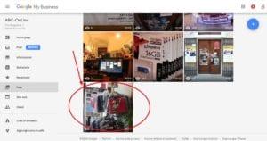 Google My Business foto 4 guarda le foto e scegli quale vuoi rimuovere