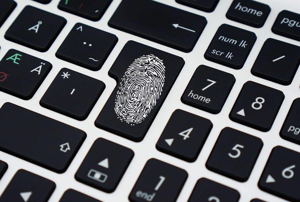 sicurezza un profilo aziendale collaborativo password impronta digitale